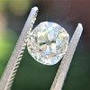 1.18ct Antique Cushion Cut Diamond GIA L SI1 4
