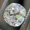 1.18ct Antique Cushion Cut Diamond GIA L SI1 0
