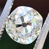1.18ct Antique Cushion Cut Diamond GIA L SI1 5