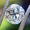 1.18ct Antique Cushion Cut Diamond GIA L SI1 3