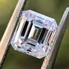 1.19ct Vintage Emerald Cut Diamond GIA E VS2 1