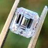 1.19ct Vintage Emerald Cut Diamond GIA E VS2 6