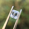 1.19ct Vintage Emerald Cut Diamond GIA E VS2 7