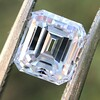 1.19ct Vintage Emerald Cut Diamond GIA E VS2 4