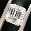 1.19ct Vintage Emerald Cut Diamond GIA E VS2 2