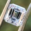 1.19ct Vintage Emerald Cut Diamond GIA E VS2 0
