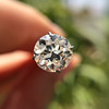 1.24ct Old European Cut Diamond AGS J, SI1        7
