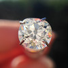 1.27ct Antique Cushion Cut Diamond, EGL K VS1 7