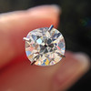 1.27ct Antique Cushion Cut Diamond, EGL K VS1 1