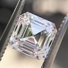 1.30ct Asscher Cut Diamond GIA H VVS2 3