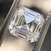 1.30ct Asscher Cut Diamond GIA H VVS2 4