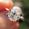 1.31ct Old European Cut Diamond GIA K, SI1 7
