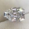 1.33ct Vintage Shield Step Cut Diamond GIA E VS1 7