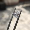 1.33ct Vintage Shield Step Cut Diamond GIA E VS1 14
