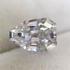 1.33ct Vintage Shield Step Cut Diamond GIA E VS1 1