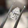 1.33ct Vintage Shield Step Cut Diamond GIA E VS1 11