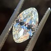 1.36ct Antique Moval Cut Diamond GIA H VVS2 7