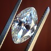 1.36ct Antique Moval Cut Diamond GIA H VVS2 18