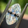 1.36ct Antique Moval Cut Diamond GIA H VVS2 3