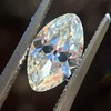 1.36ct Antique Moval Cut Diamond GIA H VVS2 1