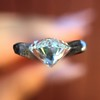 1.36ct Antique Moval Cut Diamond GIA H VVS2 6