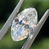 1.36ct Antique Moval Cut Diamond GIA H VVS2 0