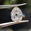 1.39ct Antique Pear Cut Diamond GIA F VS1 8