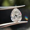1.39ct Antique Pear Cut Diamond GIA F VS1 10