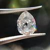 1.39ct Antique Pear Cut Diamond GIA F VS1 7