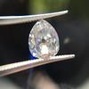 1.39ct Antique Pear Cut Diamond GIA F VS1 17