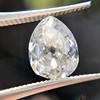1.39ct Antique Pear Cut Diamond GIA F VS1 3