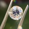 1.39ct Antique Cushion Cut Diamond GIA G SI1 34