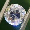 1.39ct Antique Cushion Cut Diamond GIA G SI1 22