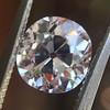 1.39ct Antique Cushion Cut Diamond GIA G SI1 35