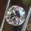 1.39ct Antique Cushion Cut Diamond GIA G SI1 39