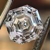 1.41ct Royal Asscher Cut Diamond GIA F SI1 0