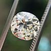 1.42ct Antique Cushion Cut Diamond, AGS K SI1 5