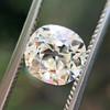 1.42ct Antique Cushion Cut Diamond, AGS K SI1