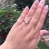 1.42ct Antique Cushion Cut Diamond, AGS K SI1 13