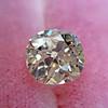 1.42ct Antique Cushion Cut Diamond, AGS K SI1 22