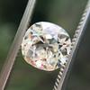 1.42ct Antique Cushion Cut Diamond, AGS K SI1 1