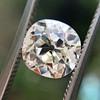 1.42ct Antique Cushion Cut Diamond, AGS K SI1 3
