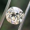 1.42ct Antique Cushion Cut Diamond, AGS K SI1 7