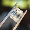 1.42ct Emerald Cut Diamond GIA FVVS2 9