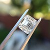 1.42ct Emerald Cut Diamond GIA FVVS2 7