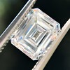 1.42ct Emerald Cut Diamond GIA FVVS2 1