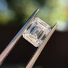 1.42ct Emerald Cut Diamond GIA FVVS2 15