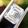 1.42ct Emerald Cut Diamond GIA FVVS2 0