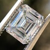 1.42ct Emerald Cut Diamond GIA FVVS2 2
