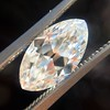 1.59ct Antique Marquise Cut Diamond GIA F VS2 0